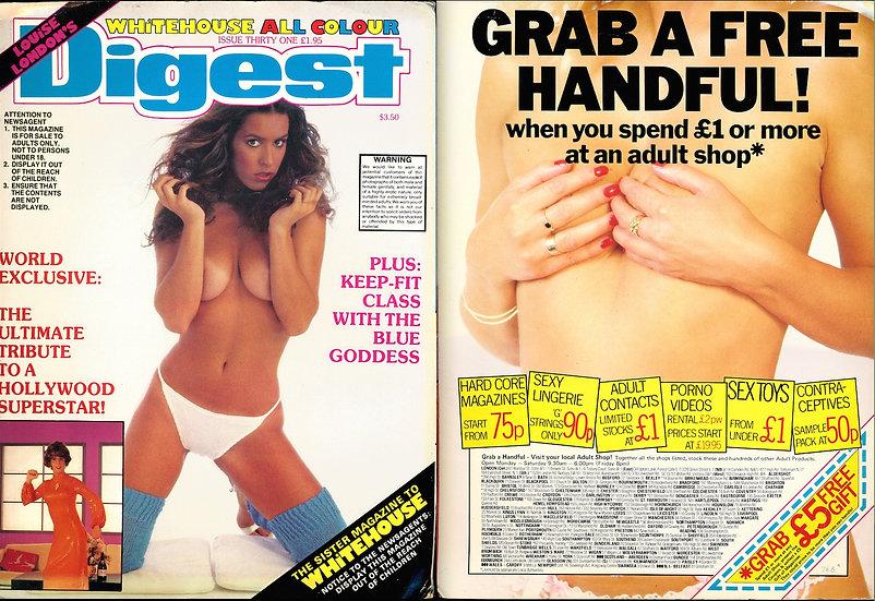Whitehouse Digest (Vintage adult British magazine, 1984)
