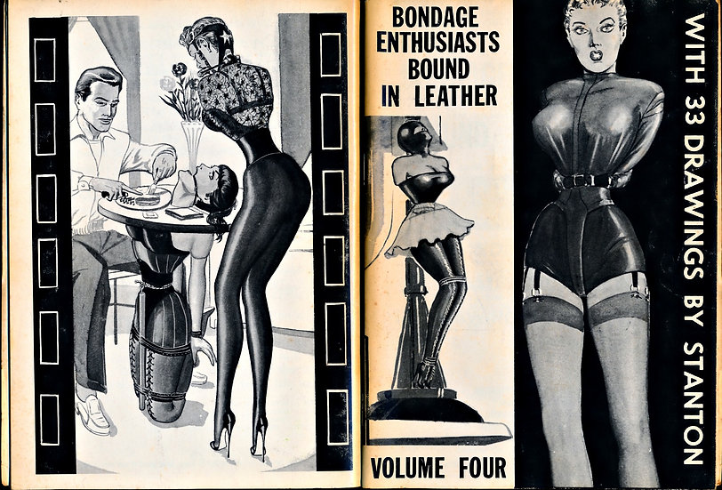 Bondage Enthusiasts Bound in Leather, Vol. 4 (First Edition, 1961)
