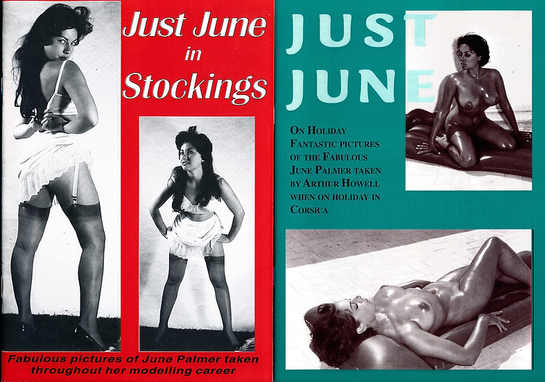 Just June on Holiday / Just June in Stockings (2 contemporary fanzines, 1990s)