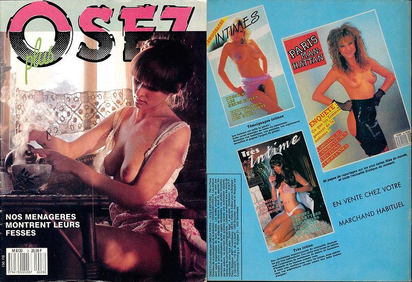 Osez plus (Vintage French adult magazine, 1980s)