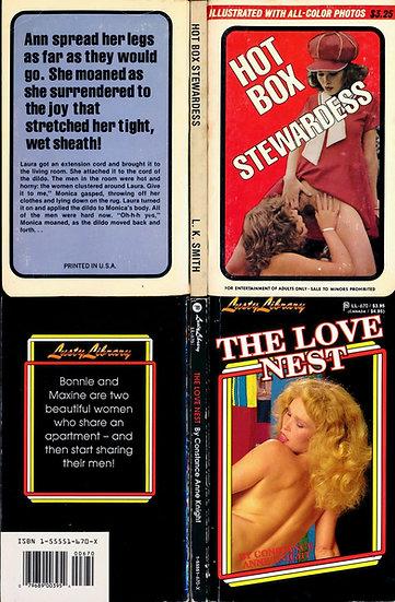 Serena Czarnecki (2 vintage adult paperbacks, 1970s)