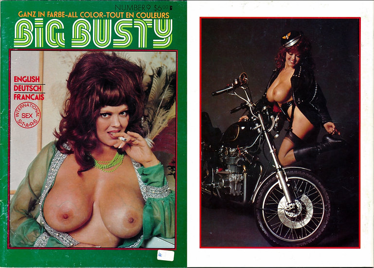 Big Busty, N9 (Vintage adult magazine, Roxy Brewer feature, 1980s)