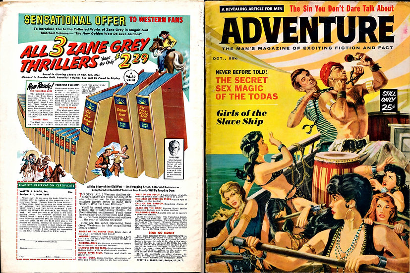 Adventure (Vintage magazine, Oct 1959)