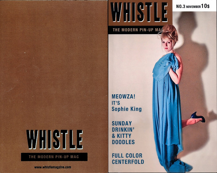 Whistle: The Modern Pin-Up Mag (adult digest magazine, 2012)