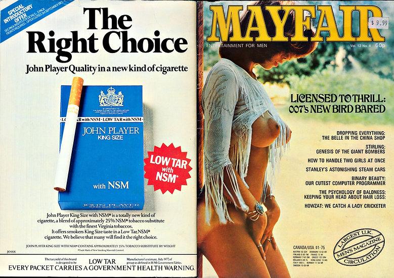 Mayfair (Vintage British adult magazine, Linda Gordon feature)