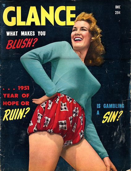 Glance (Vintage tabloid magazine, Dec 1950)