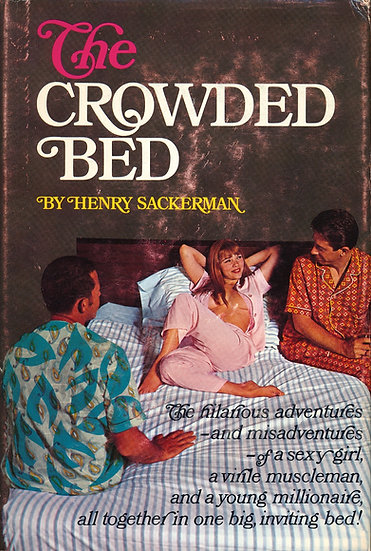 The Crowded Bed (First Edition, Michelle Angelo cover model)