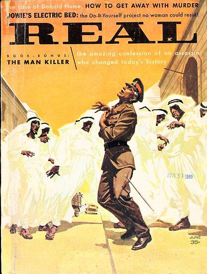 Real (Vintage adventure magazine, Jun 1960)