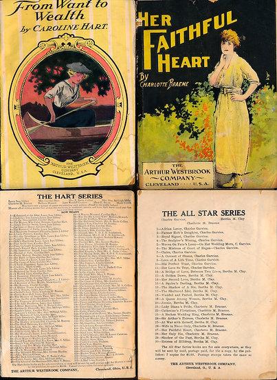 Arthur Westbrook romances (2 vintage digest paperbacks)