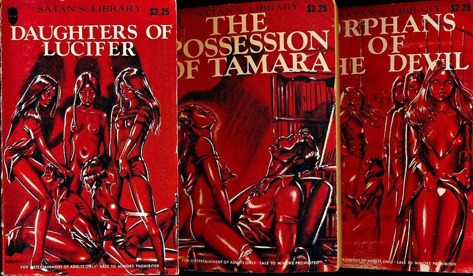 Satan's Library (3 Vintage Paperbacks)