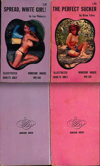 Windsor House (2 vintage adult paperbacks)