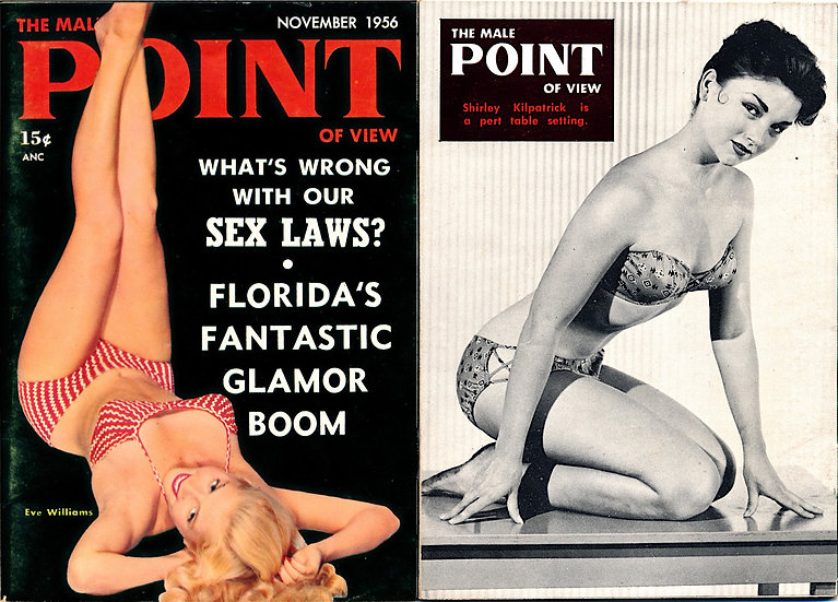 The Male Point of View [Point] (vintage pocket pinup magazine, Nov 1956)
