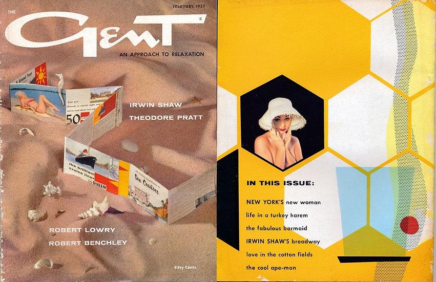 [The] Gent (Vintage adult magazine, Feb 1957)