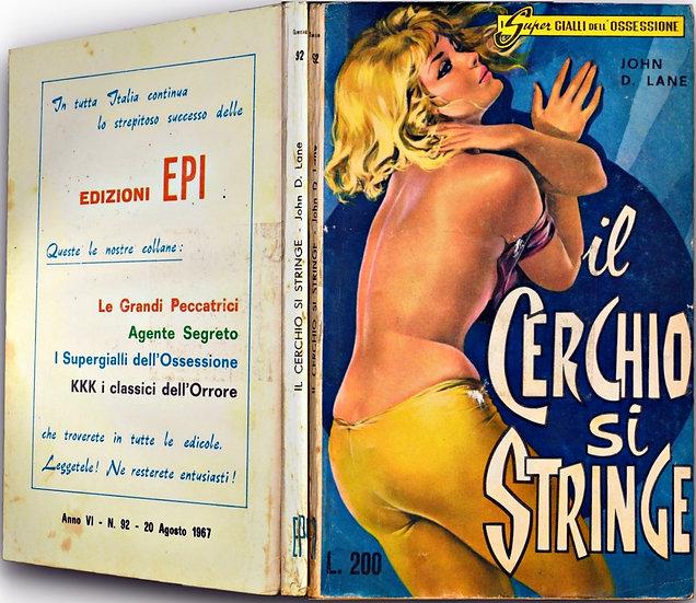 il Cerchio si Stringe [The Big Trap] (Vintage Italian Paperback)