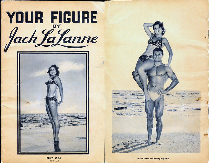 Your Figure (Vintage digest fitness magazine Shirley Kilpatrick covers, 1953)