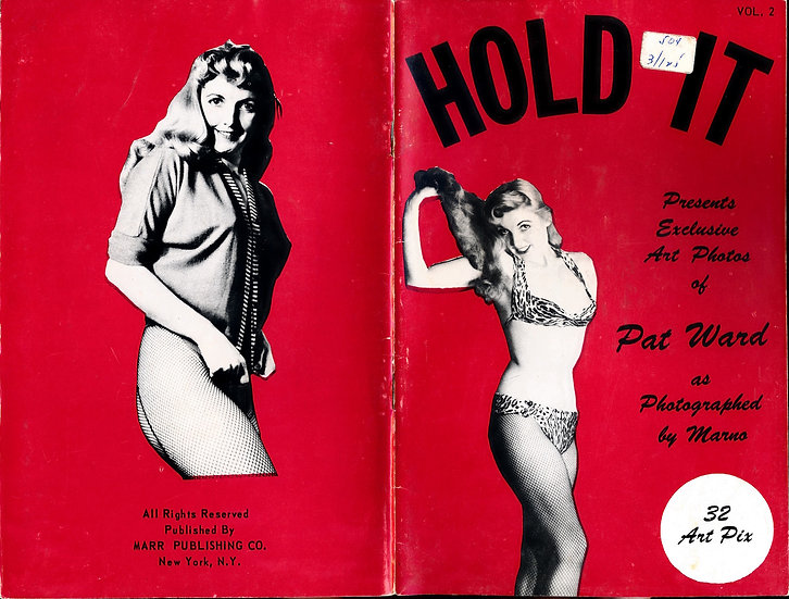 Hold It (vintage pinup digest magazine, 1950s)