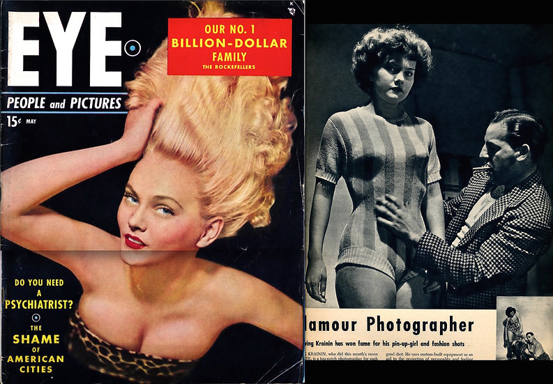 Eye: People and Pictures (Vintage tabloid magazine, May 1949)