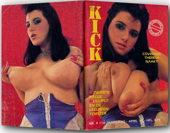 Kick (Vintage adult magazine, 1986)