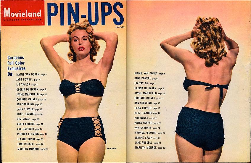 Movieland Pin-Ups (Vintage pin-up magazine, 1955)