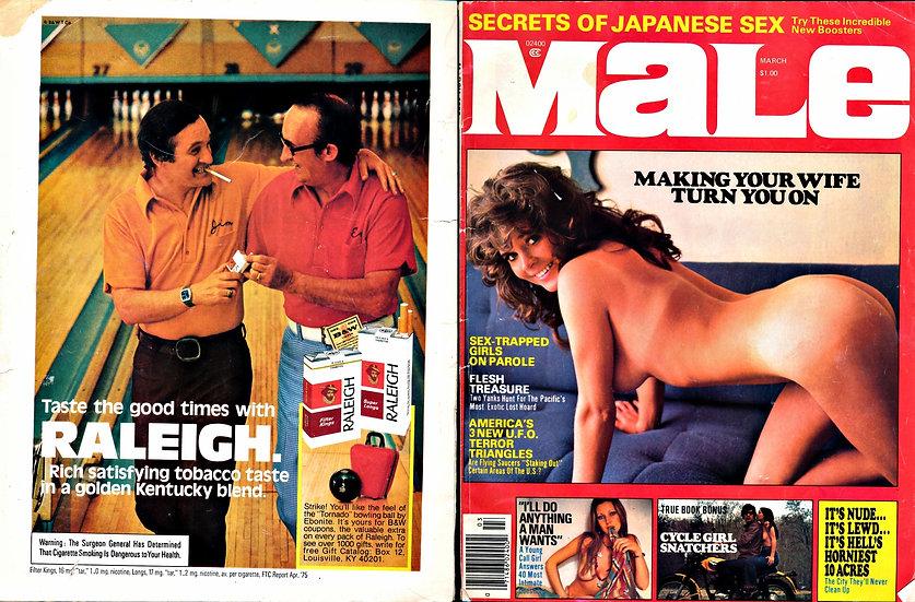 Male (vintage adult magazine, 1976)