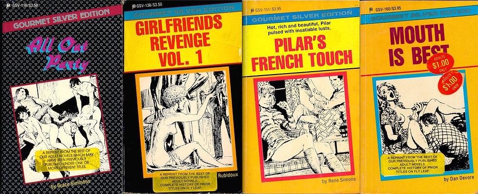 Gourmet Silver Edition (4 vintage adult paperbacks)