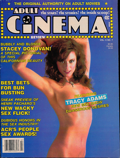 Adult Cinema Review (Vintage adult magazine, 1980s)