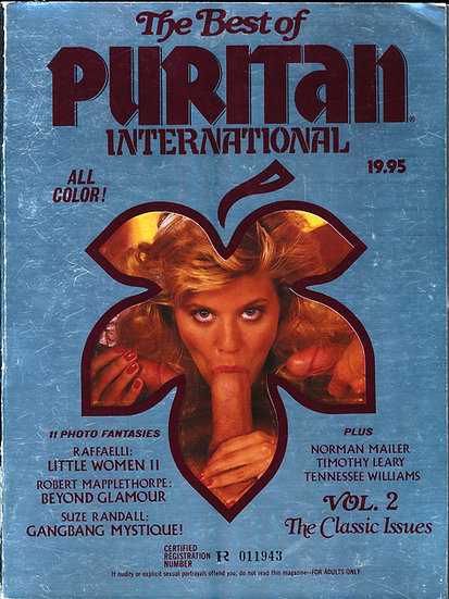 The Best of Puritan International (Vintage adult magazine, Ginger Lynn, 1985)