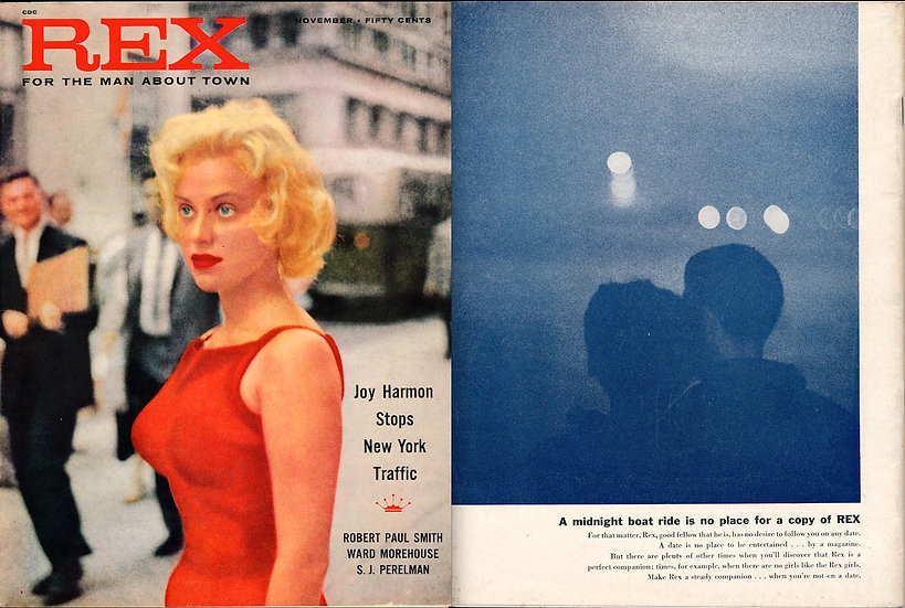 Rex (Vintage pin-up magazine, featuring Andy Warhol, 1957)