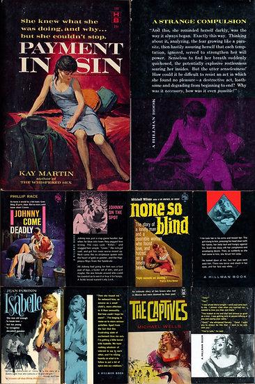 Hillman Books (5 vintage paperbacks)