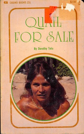 Quail for Sale (Vintage adult paperback, Uschi Digart cover, 1979)