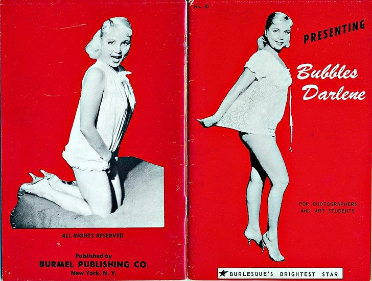 Presenting: Bubbles Darlene (vintage adult pinup digest magazine, 1950s)