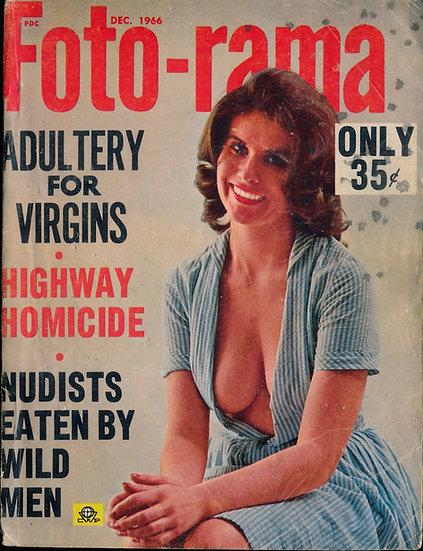 Foto-rama (Vintage adult magazine, December 1966)