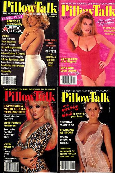 PillowTalk [Pillow Talk] (4 vintage adult magazines, 1979-81)