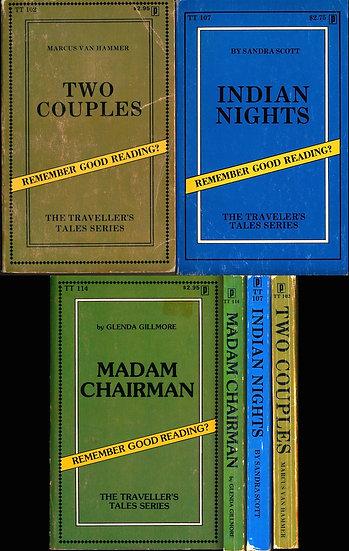 Traveler's Tales (3 vintage adult paperbacks, 1978)