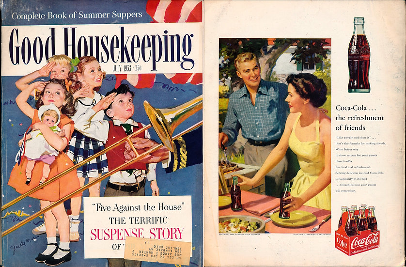Good Housekeeping (Vintage Americana magazine, July 1953)
