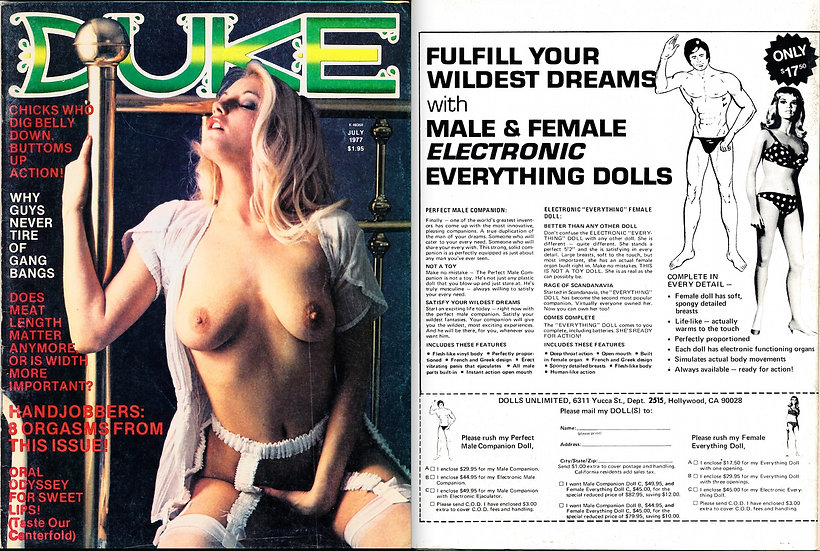 Duke (Vintage adult magazine, July 1977)