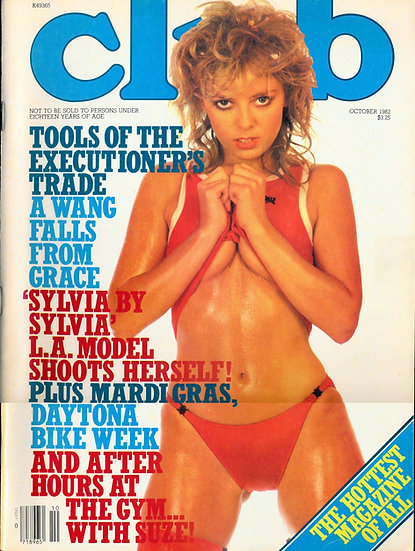 Club (Vintage adult magazine, 1982)