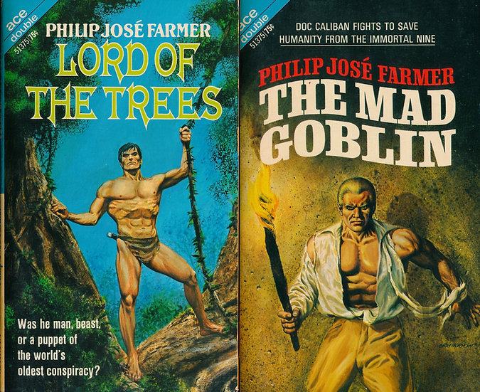 The Mad Goblin / Lord of the Trees (First Edition, Offutt's copy, 1970)