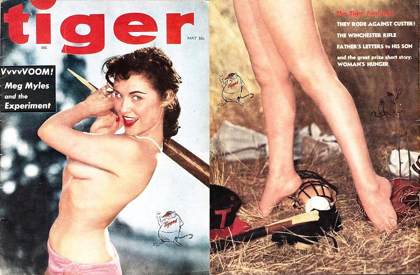 Tiger (Vintage pin-up magazine, May 1957)