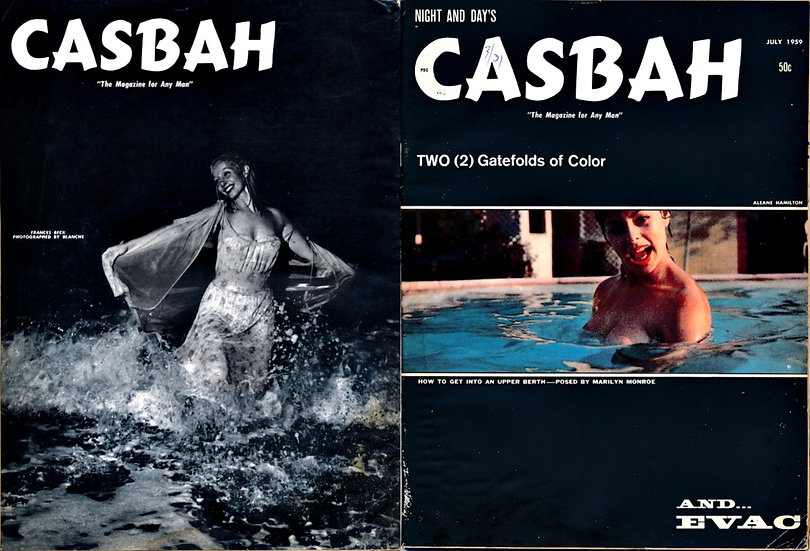 Night and Day's: Casbah (Vintage Magazine, Aleane Hamilton cover)