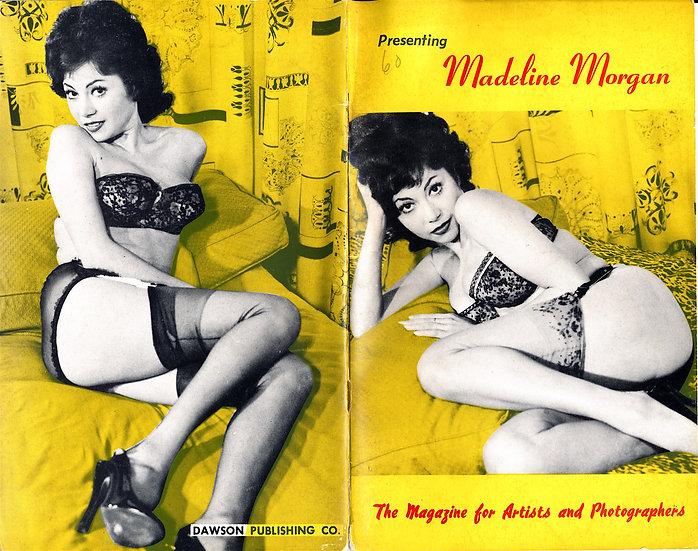 Presenting: Madeline Morgan (vintage adult pinup digest magazine, 1950s)