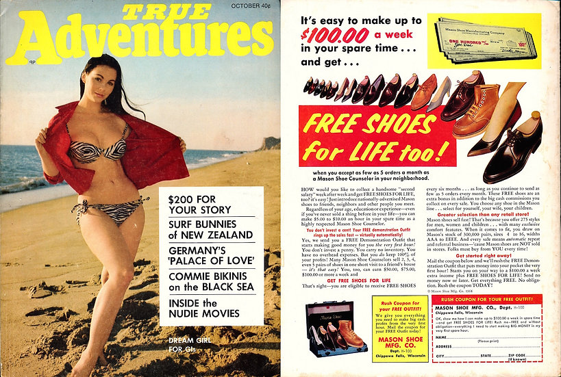 True Adventures (Vintage adult magazine, 1968)