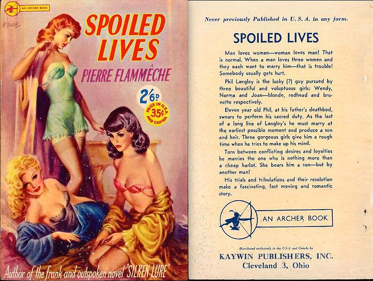 Spoiled Lives (Vintage digest paperback, 1952)