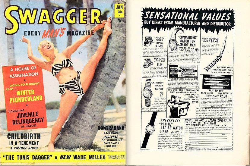 Swagger (Vintage pinup magazine, Jan 1951)