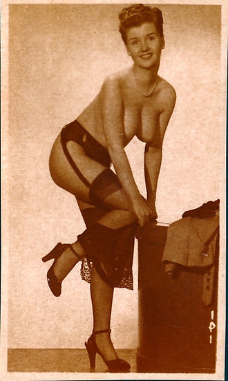 Suzanne Snow [Sue] (Original mail-order pinup photograph, 1950s)