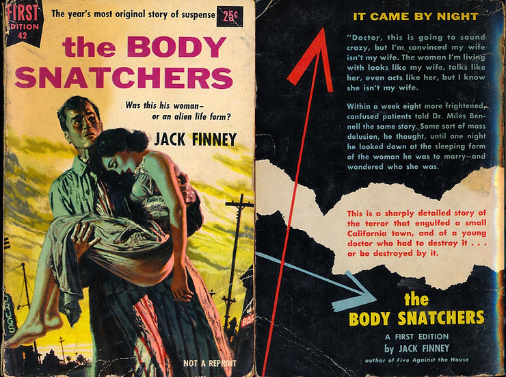The Body Snatchers (First Edition, paperback original, Dell 1955)