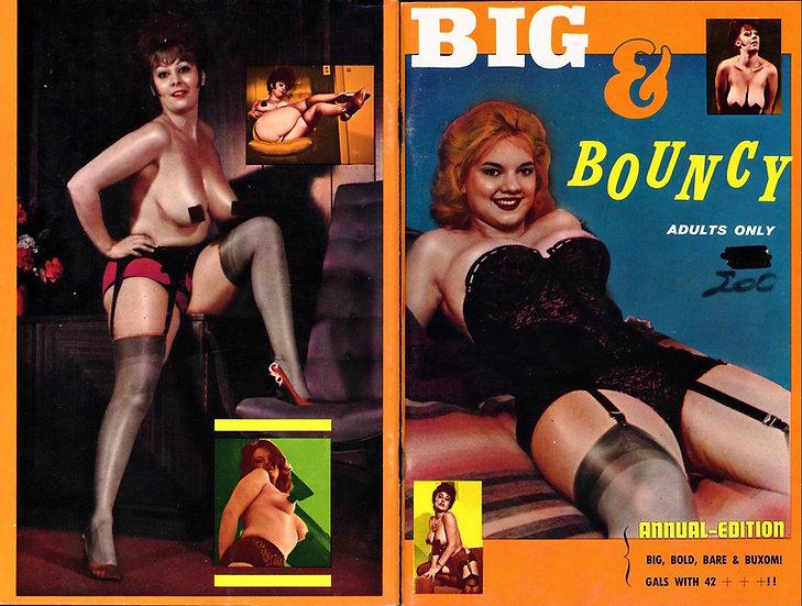 Big & Bouncy (vintage adult pinup digest magazine, 1960s)
