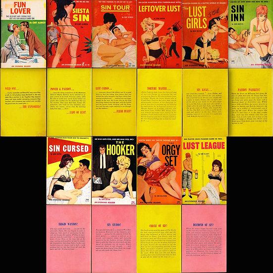 Greenleaf Classics: Evening Reader (19 vintage adult paperbacks)