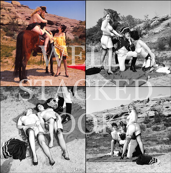 Deb (Original negatives of Elmer Batters photo session w/ blonde model, 1960s)