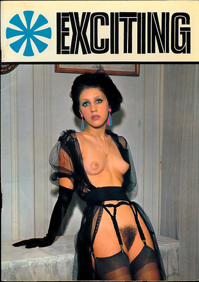 Exciting (Vintage Danish adult digest magazine, 1968)